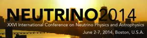 XXVI International Conference on Neutrino Physics and Astrophysics