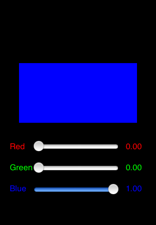 In the additive mode, there is a red square, a green square, and a blue  rectangle. These are centered in different parts of the screen, but they  overlap to ...