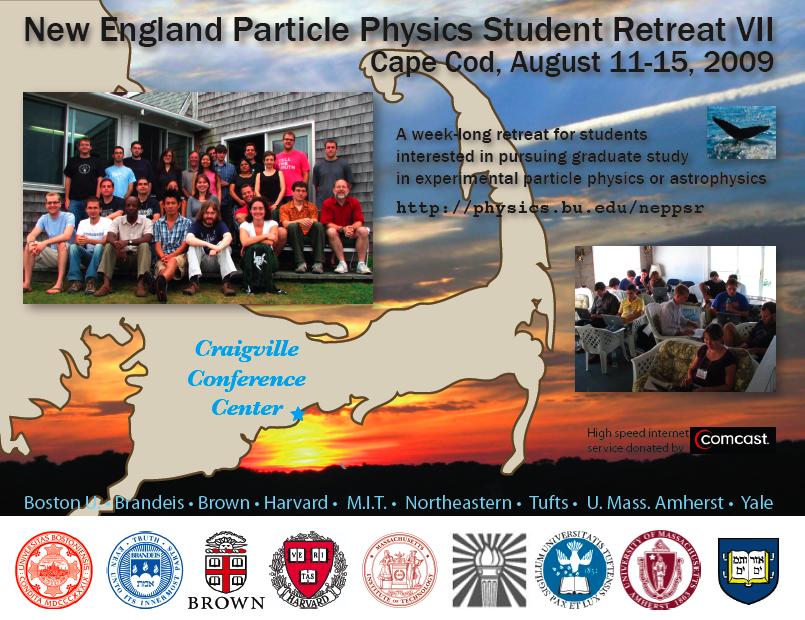 New England Particle Physics Graduate Student Retreat NEPPSR
