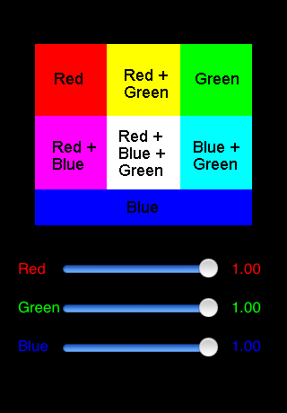 The Subtractive Mode Is Similar Just With A Cyan Square Instead Of Red Magenta Green And Yellow Rectangle Blue